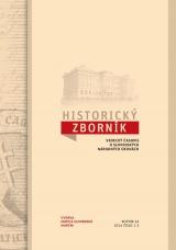 Historicky zborník  roč. 24. č. 1-2