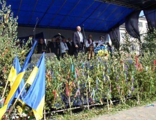 Tradičná slávnosť slovenského ľudového umenia – Slovenská veselica – 2015 v Perečíne na Ukrajine
