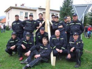 členovia dobrovoľného hasičského zboru z Istebného