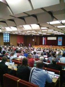 pohľad na delegátov VZ