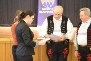 odovzdavanie ceny: 3. miesto Prešovskí heligonkárivystupenie