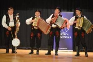 vystupenie Prešovskí heligonkári