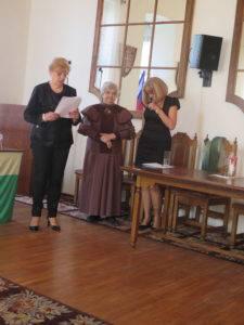 Mgr. Mária Striššová ( zľava ), Mgr. Anna Dubovcová ( vstrede ), PaedDr. Oľga Lenková ( z prava)