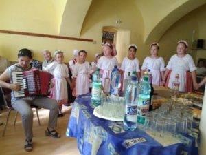 detská folklórna skupina PANTILKA pri ZŠ ČSA v Moldave
