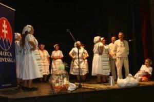 Vystúpenie Matica slovenská Osijek, foto: N. Rechtorisová