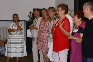 Príhovor predsedníčky MO MS Janíkovce O. Haringovej