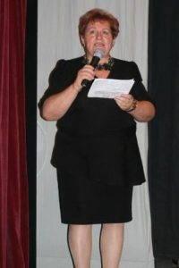 Predsedníčka MO MS Krnča D. Vargová