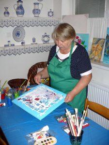 Názorná ukážka maľby