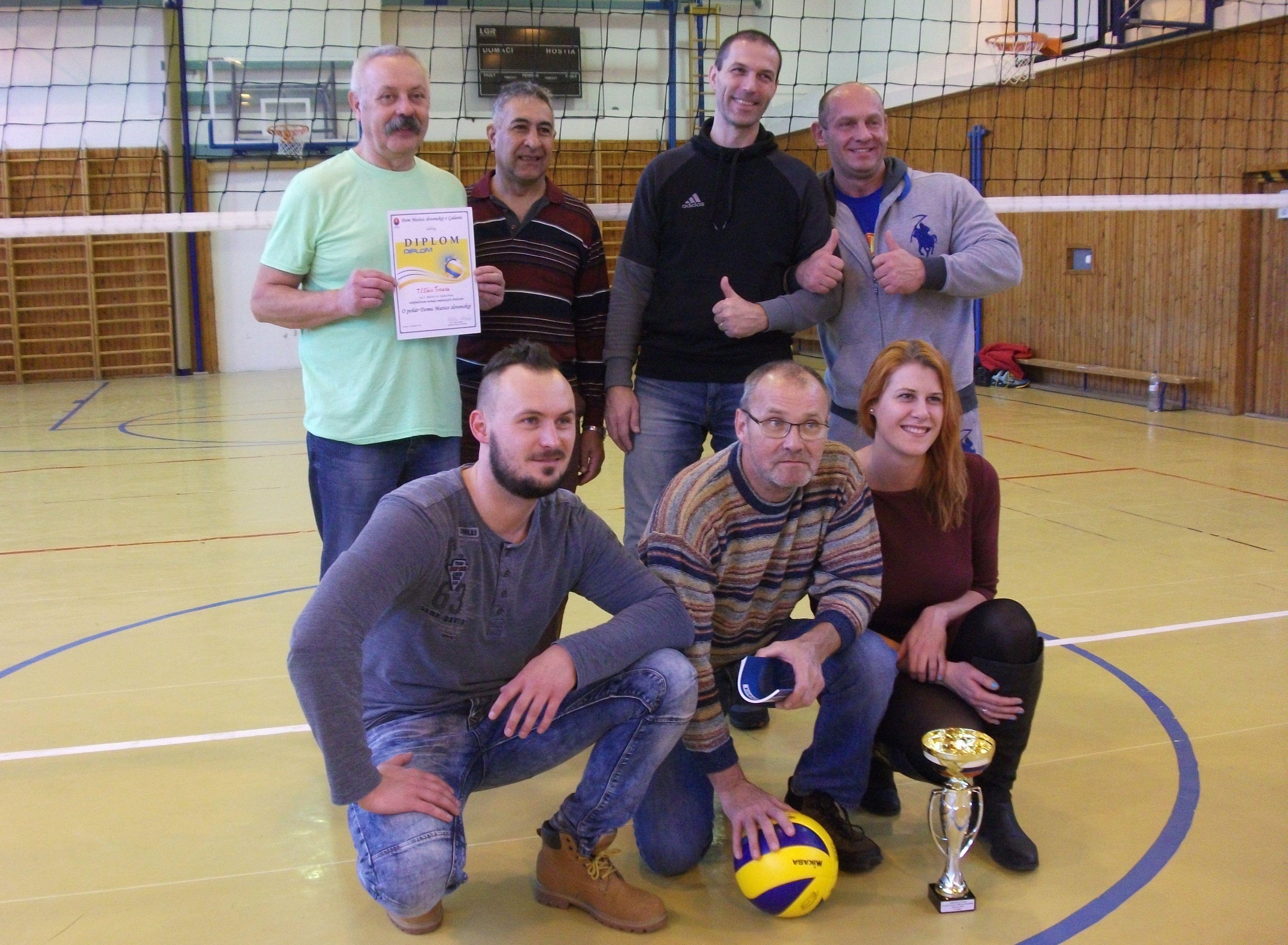 Vianočný volejbalový turnaj zmiešaných družstiev – O pohár Domu MS ... 63e538e0a6
