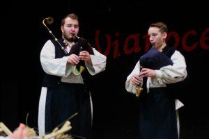 Vľavo M. Pavel a F. Chňapek