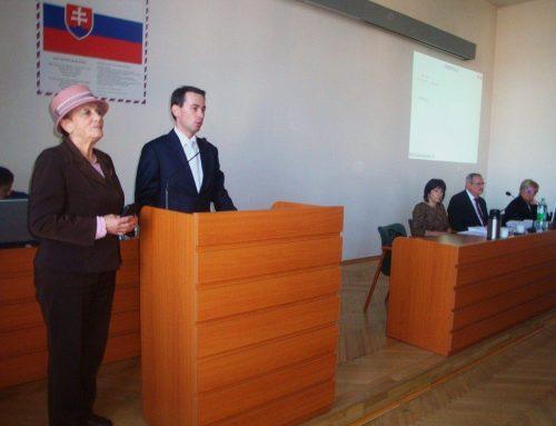 Matica slovenská ocenila mesto Spišská Nová Ves pri príležitosti 750. výročia prvej písomnej zmienky cenou predsedu MS