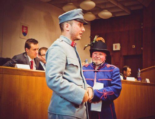 100. výročie Ministerstva s plnou mocou pre správu Slovenska si pripomenuli v Žiline. Žilina bola dočasným hlavným mestom Slovenska takmer dva mesiace
