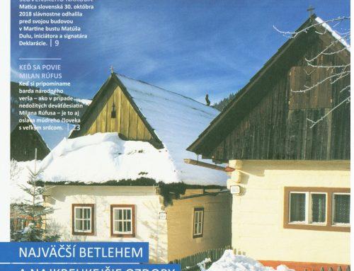 Magazín Slovensko – zima 2018