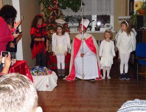 Stretnutie detí s Mikulášom v Dome MS v Dunajskej Strede