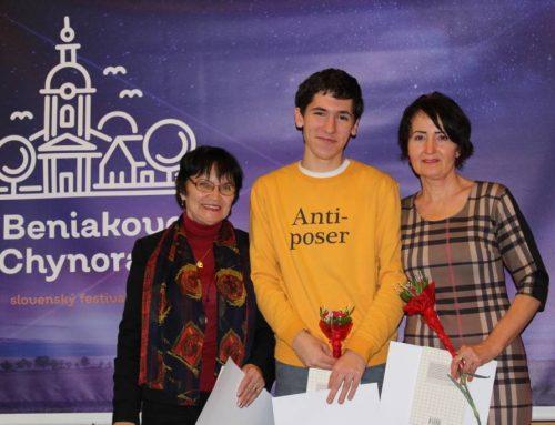 XXV. slovenský festival poézie Beniakove Chynorany