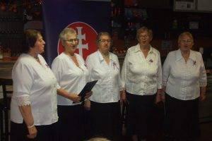 Spevácka skupina Matičiarky pri MO MS Košice