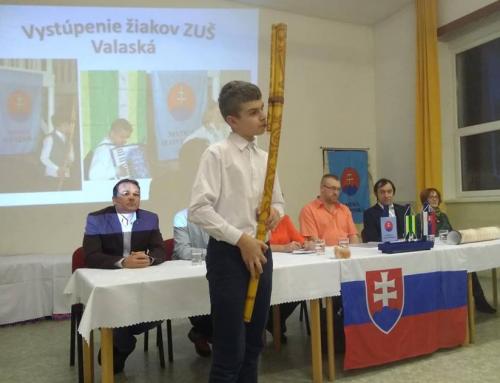 Výročná členská schôdza MO MS Valaská za rok 2018