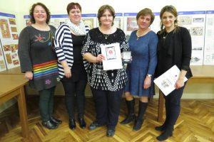 Časť organizačného výboru: zľava J. Oršulová, Z. Felderová, M. Račková, A. Černíková, V. Bilicová