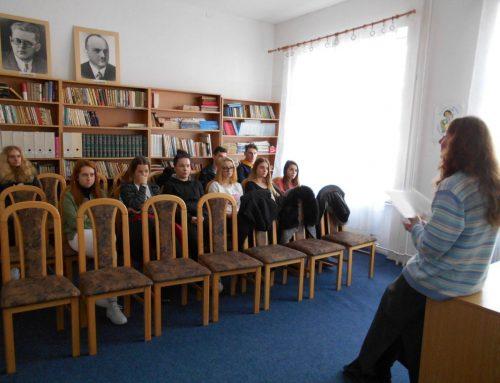 Stretnutie s osobnosťou spisovateľky Eleny Maróty-Šoltésovej v Žiline