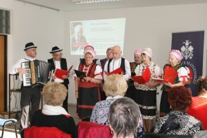 Popoludnie so slovenskou poéziou, Senior Matičiar pôsobiaci pri MO MS Nitra - Chrenová