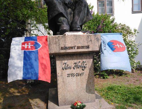 Spomienka na Jána Hollého 14. apríla 2019