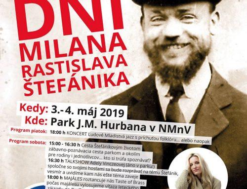 Zažite Dni Milana Rastislava Štefánika v Novom Meste nad Váhom s Maticou slovenskou