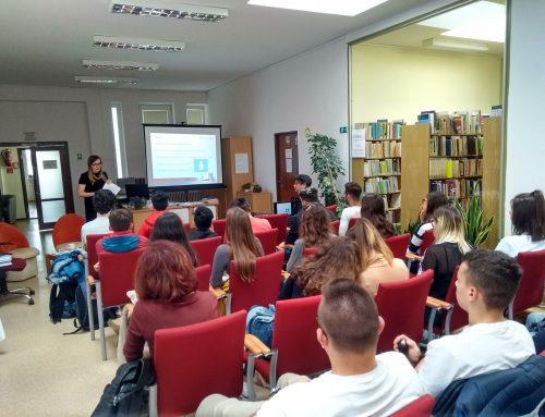 Parlamentný inštitút prednášal študentom o eurovoľbách
