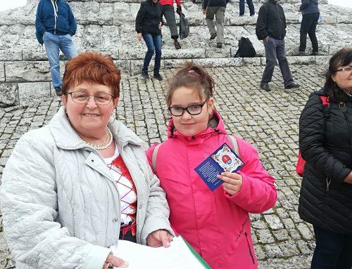 Matičiari z Veľkých Lovciec prijali do svojich radov najmladšiu členku  priamo na Mohyle M. R. Štefánika