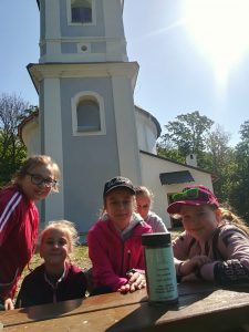 Rotunda sv. Juraja - Nitrianska Blatnica, 8.5.2019, autor fotografie: Veronika Bilicová