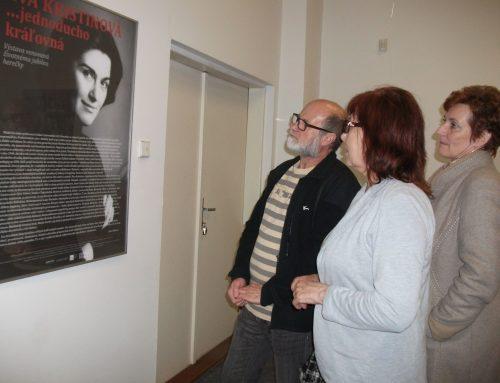 Otvorenie výstavy  Eva Kristinová, jednoducho kráľovná, aj vGalante