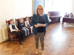 podujatie konferovala riaditeľka CMŠ sv. Bernadetty J. Kavaschová