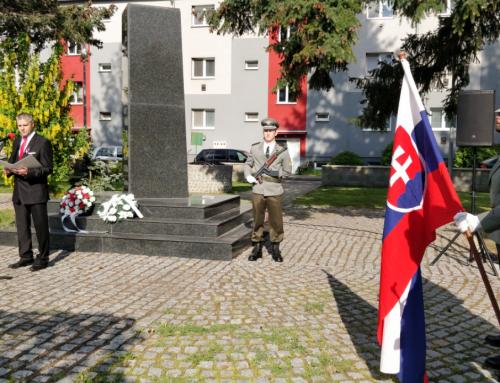 Spomienková slávnosť pri príležitosti 74. výročia ukončenia 2. svetovej vojny a 100. výročia úmrtia M. R. Štefánika