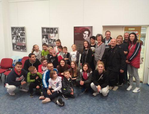 Mladí divadelníci zo SKOS DETVAN Pančevo Belehrad na návšteve vGalante