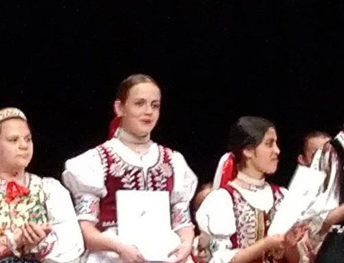 Vanda Marinčáková víťazkou krajskej súťaže Zlatý slávik Slovenska