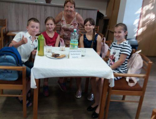 1. ročník súťaže v čítaní rozprávok Spod slovanskej lipy v Galante