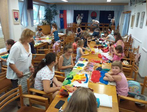 TAPI vGalante, prvý týždeň júla – pre deti