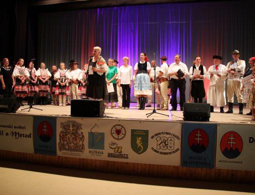 Dom Matice slovenskej vRožňave oslávil svoje malé jubileum