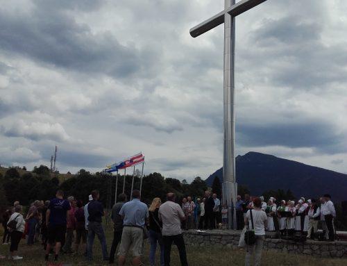 Stretnutie milovníkov slovenského národa na Vyšnokubínskych skalkách