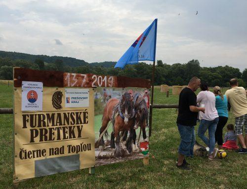 Furmanské preteky vČiernom nad Topľou sa tohto roku konali už po desiaty krát
