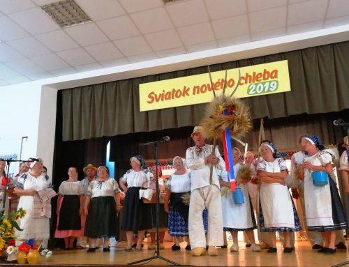 Sviatok nového chleba aMatičné slávnosti vDražovciach