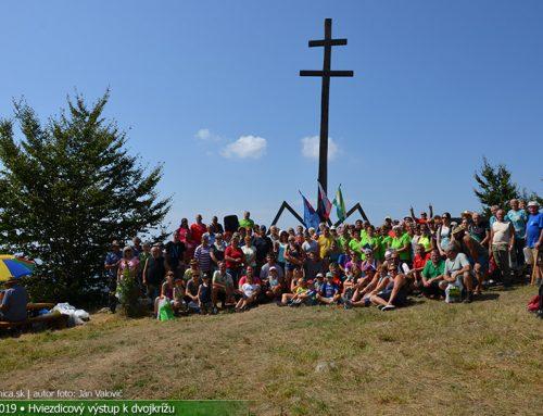 Hviezdicový výstup k Slovanskému dvojkrížu na Ostrý vrch