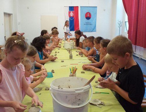 Augustový týždeň tvorivosti pre deti vDome MS Galanta