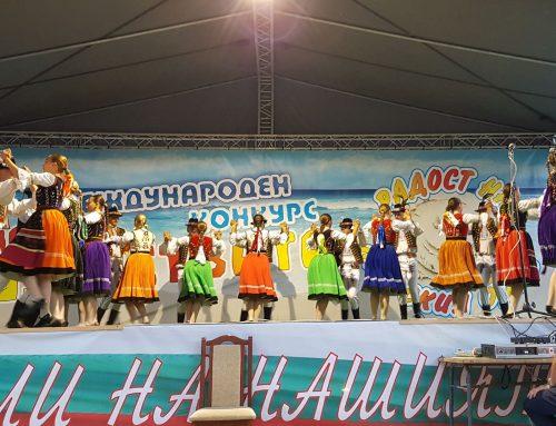 Matičné súbory Chemlon a Chemloňáčik na medzinárodnom festivale v Aheloy v Bulharsku