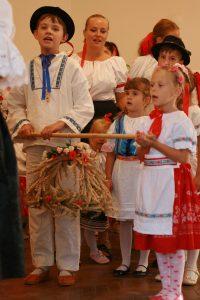 Najmladší hostia slávnosti - DFS Zbežanček