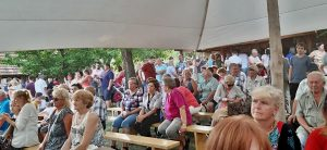 Na tohtoročné slávnosti zavítalo vyše 400 návštevníkov. Autor fotografie: M. Kurucová Kasášová