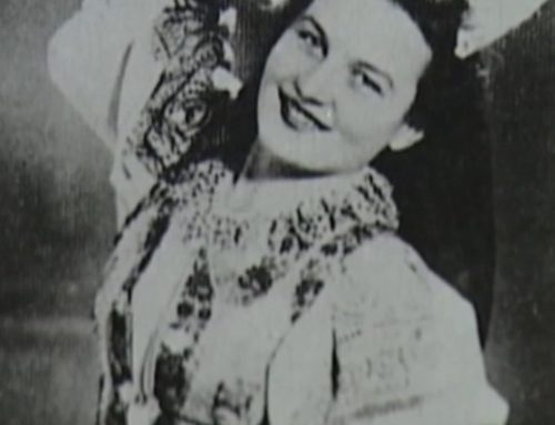 Anna Cveková-Bašistová, prvá dáma Frontového divadla akošická matičiarka