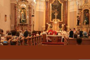 Spomienka na Mateja Tučka, slávnostná sv. omša