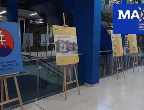 Výstava odruhej matičnej budove v Prešove