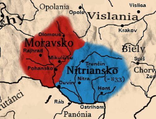 Kniežatstvá Nitrava a Morava