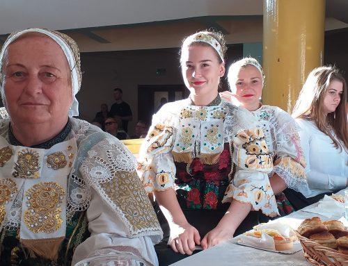 25. výročie založenia Folklórnej skupiny Dudváh z Križovian nad Dudváhom